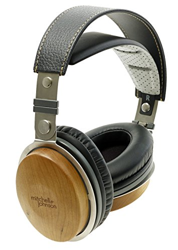 Mitchell and Johnson JP1 Portable Electrostatic Headphone - Cherry Best Price and Cheapest