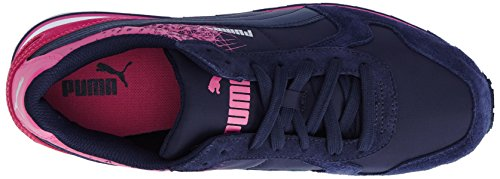 PUMA - St Runner Fr, Sneakers da donna Blu (Blau (peacoat-carmine rose 05))
