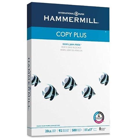 Copy Plus Copy Paper, 92 Brightness, 20lb, 11 x 17,