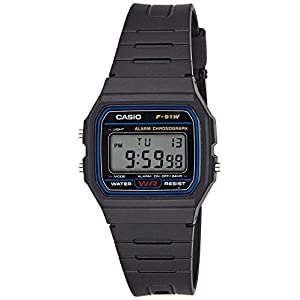 Casio Collection Unisex-Armbanduhr F-91W-1YER