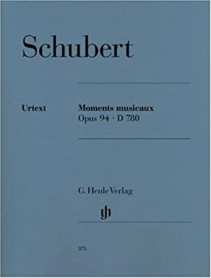 [English]Six little musical treasures from Schubert's Moments Musicaux Op.94 for Piano solo, edited and fingered by Walter Gieseking. This is an authoritative Urtext edition includes a full editorial representing a mansucript that closely fol...
