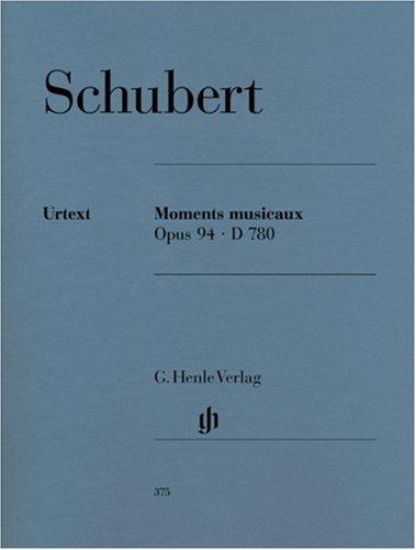 Moments Musicaux Op.94 D780 - Piano