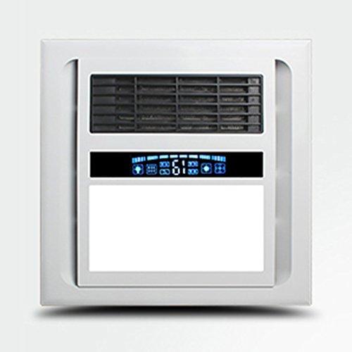 Radiador techo HWF LED Threeinone Baño multifunción Lámpara de Calor Luces de Techo Luz Baño Ventilación...