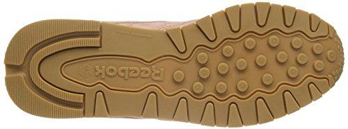 Reebok Damen Classic Leather Bread & Butter Sneakers Pink (Rustic Clay/Chalk/Desert Stone/Gum)
