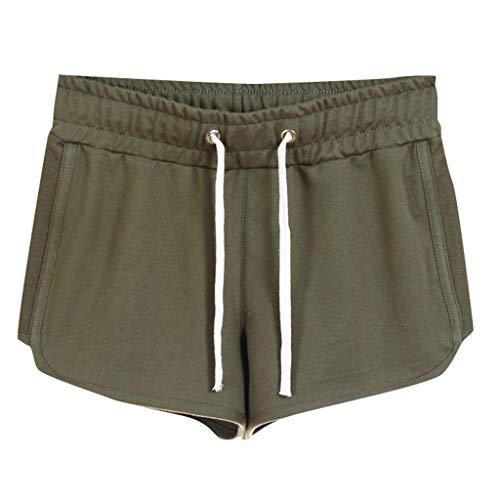 Shorts LEEDY Damen Kurze Hosen Strand Sporthose Schlafhose Yoga Running Gym Beiläufige Sport Hosen Schlafanzughose mit ()
