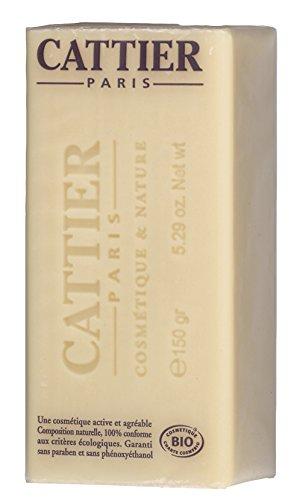 Cattier-Paris Heilerde Seife Sheabutter BIO, 3er Pack (3 x 150 g)
