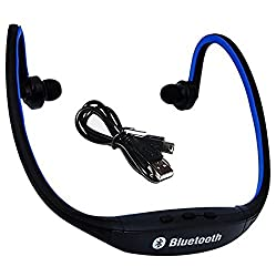 Defloc BS19C Bluetooth Headphones- Blue
