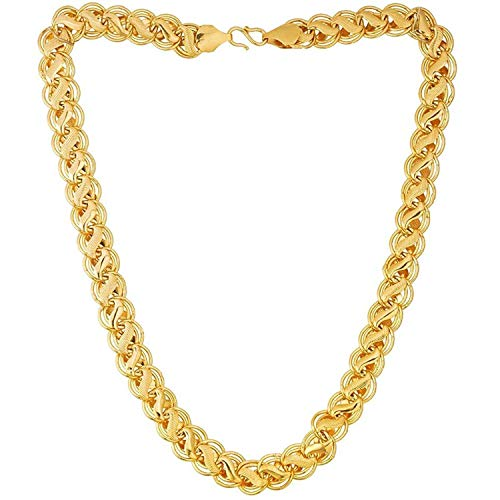 Zukhruf Fashion Gold Plated Chain For Mens & Boys
