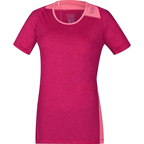 GORE WEAR Damen Sunlight Lady Shirt Kurzarm, Jazzy Giro pink, 38 - Stadt-stretch-kurzarm-shirt