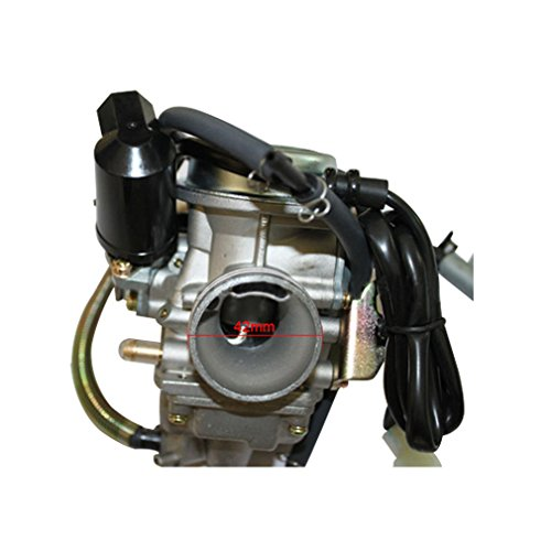 GOOFIT 24mm PD24J carburador de la motocicleta carburador Keihin de GY6 125cc-150cc...