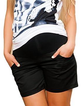 Mija - Pantaloncini leggeri Premaman / Perfetti per l'Estate 9038