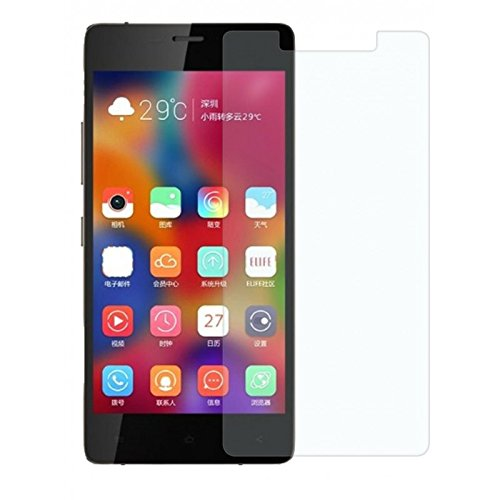 Aaro Global Gionee Elife S7 Tempered Glass Screen Protector 9H Hardness, Bubble Free, Anti Explosion  available at amazon for Rs.127
