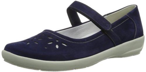 Semler  Flora, pantoufles femme Bleu - Blau (aqua 072)