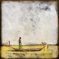 Feeling at home, Stampa artistica x cornice - quadro, fine art print, Cambio di gioco cm 69x69
