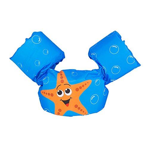 AimdonR Gilet Galleggiante da Nuoto per Bambini, Giubbotto salvagente di Salvataggio Bambino Fascia da Braccio salvagente Gonfiabile Costumi da Bagno Giacca di Nuoto