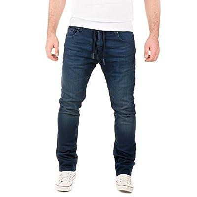 WOTEGA Herren Jeans Blau Slim
