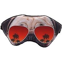 Jixing Travel Schlafende Augenmaske mit verstellbarem Gurt Schlafmaske, Hund, 18.5 * 9.5cm preisvergleich bei billige-tabletten.eu