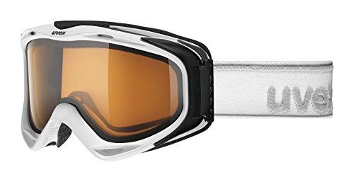 Uvex G.Gl 300 pola Skibrille, white mat, One size