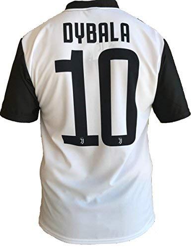 JUVENTUS F.C. - Perseo Trade S.R.L. Trikot Fußball Juventus Paulo Dybala 10 Replik Autorisierte 2018-2019 Kinder Junge (2-4-6-8-10-12) Männer (S-M-L-XL) (Medium)