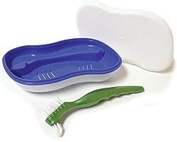 3 Pack - Archtek Maintenance Kit with full-sized Denture Brush, White, 1 ea