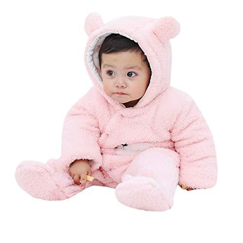 Odjoy-fan-abbigliamento bimbi bambino manica lunga cartone animato morbido felpa cappuccio piede ha yi abito strisciante onesies-bambino pagliaccetto in flanella ragazze pigiama