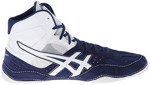 Asics , Chaussures de catch pour homme Bleu marine/blanc