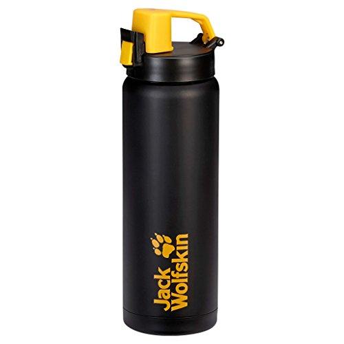Jack Wolfskin Trinkflasche Thermo Sport Bottle Grip Black 24,3 x 8 cm,  0.5 Liter, 8001391-6000