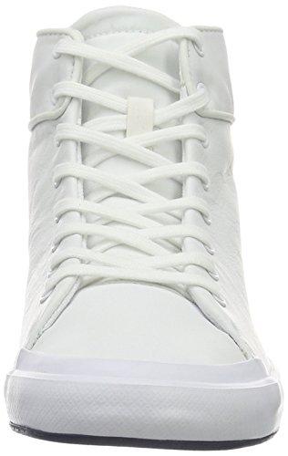 Lacoste Lancelle Hi Top 316 1, Baskets Basses Femme Blanc - Weiß (Wht 001)