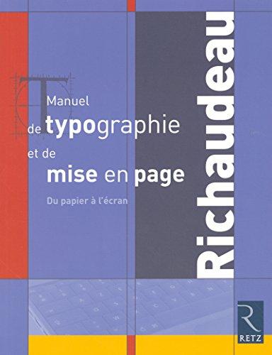 Manuel de typographie et de mise en page