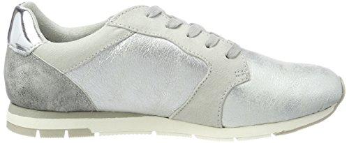 Tamaris 23617, Sneakers Basses Femme Gris (Grey Comb)
