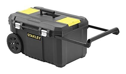 STANLEY STST1-80150 - Arcón para herramientas con cierres metálicos, 66.5 x 40.4 x 34.4 cm, capacidad 40 kg
