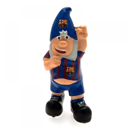 Gift Ideas Official Fc Barcelona Mini Garden Gnome A Great Present For Football Fans Gnomelands