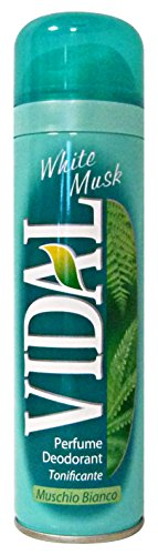 Vidal Deo Spray Wild Musk Ml.150