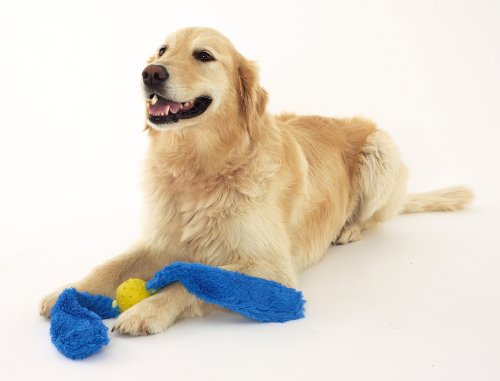 doggles-blue-tails-yellow-ball-dog-toy-by-doggles
