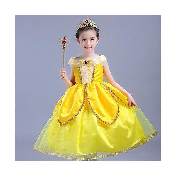 Vicloon Accessori Principessa Bella, Principessa Corona e Principessa Bacchetta, Accessori Abito per Carnival Birthday… 4 spesavip