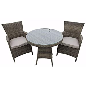 415pRcjknFL. SS300  - Nwn Patio Dining Rattan Outdoor Furniture Round Rattan Dining Set Rattan Dining Set