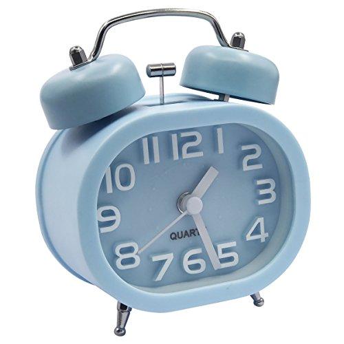 EASEHOME Retro Reloj Despertador Analógico Cuarzo