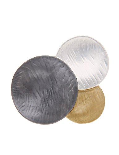 Leslii Damen-Ring Trio-Look Metalllegierung Größe: flexibel 250114738