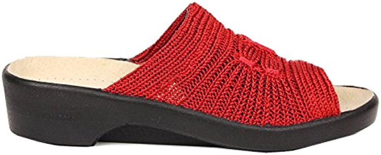 Guess Rosela, Sandalias Mujer 38 EU|Rojo En línea Obtenga la mejor oferta barata de descuento más grande