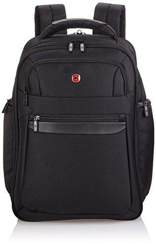Wenger Rucksack mit Laptopfach 17 Zoll Business Basic, schwarz, 30 liters, W73012291