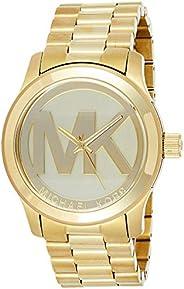 Michael Kors Runway Watch for Women - Analog Stainless Steel Band - MK5473