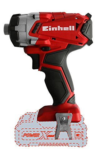 Side view - Einhell TE-CI 18 Li Solo Power X-Change 18 V Lithium Cordless Impact Screwdriver