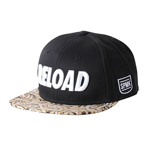 space-monkeys-casquette-reload-6-panel-snapback-hat-black