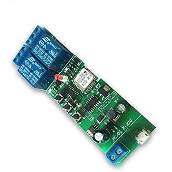 Sonoff 433Mhz Smart Remote Control Wireless Switch Universal Module 4ch DC P4S6