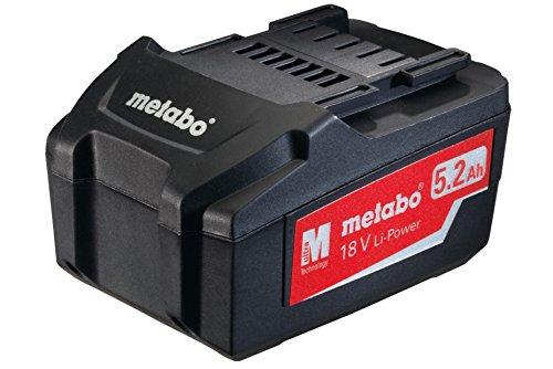 Preisvergleich Produktbild Metabo Akku-Pack, 18 V, 5,2 Ah, Li-Power, 625592000