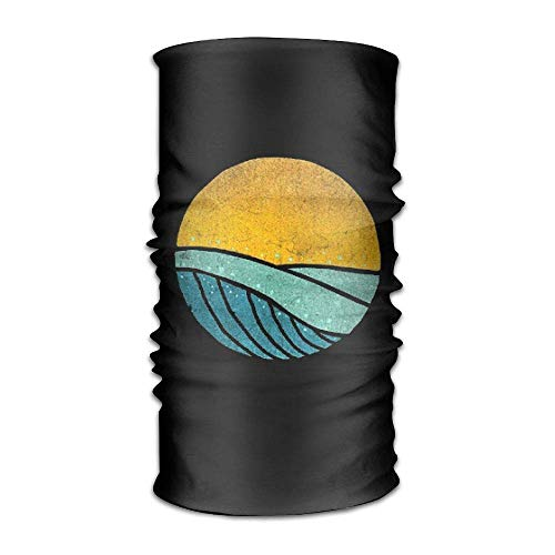 Vintage Sea Wave On Tides Unisex Sport Scarf Headbands Bandana Outdoor Sweatband Headwear (Hoch Seas Pirat Kostüm)