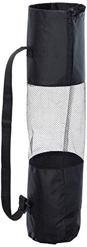 Sun&Sia sty1–Bolsa para alfombra Yoga Fitness Unisex, negro