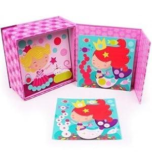 EUREKAKIDS Eureka Kids- Caja de gomets Princess 6821506012