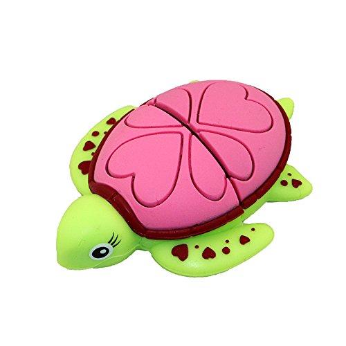 Flash drive da 32 gb usb 2.0 novità simpatico animale verde tartaruga a forma di tartaruga a forma di tartaruga