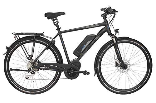 """Fischer Herren - E-Bike Trekking ETH 1861.1 (2019), schwarz matt, 28\"""", RH 55 cm, Mittelmotor 80 Nm, 48 Volt, 557 Wh"""